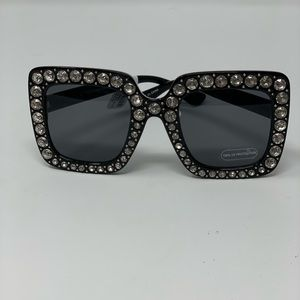 349790f890 Torrid oversized embellished sunglasses NWT